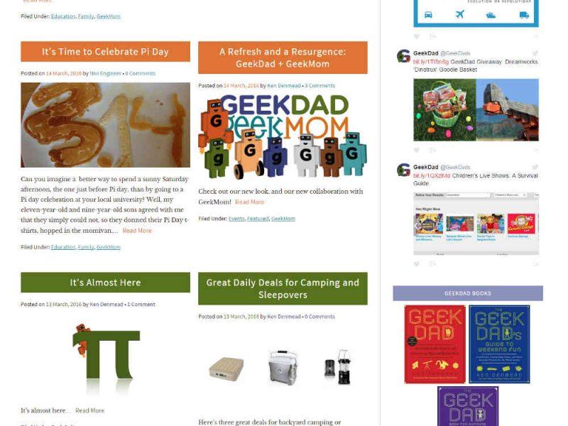 GeekDad Home