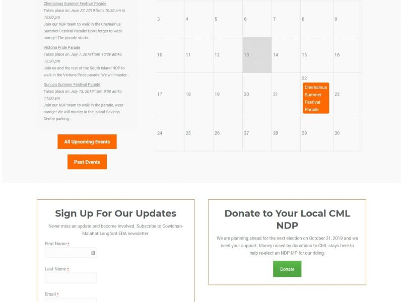 cml events page