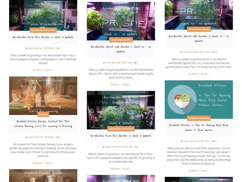 disabled kitchen and garden blog