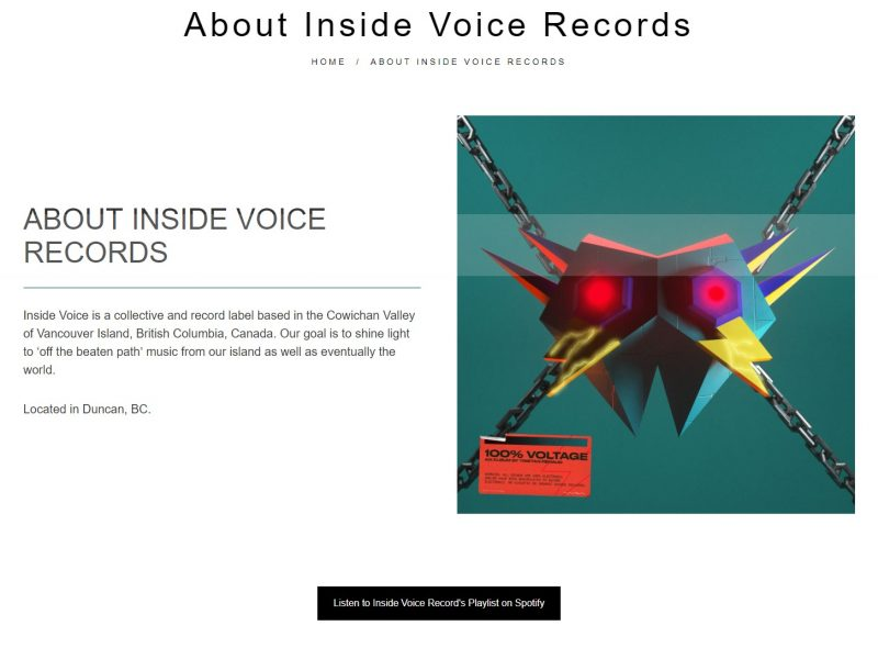 inside voice records about