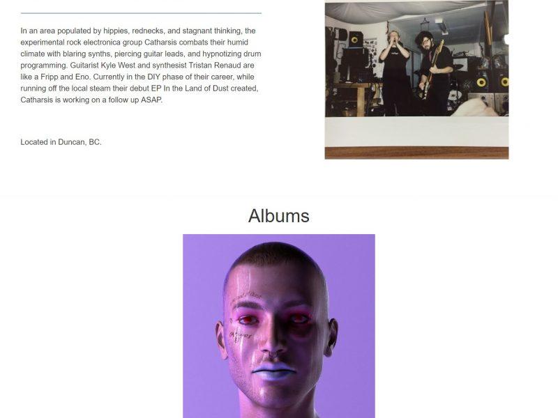 inside voice recoreds single artist page