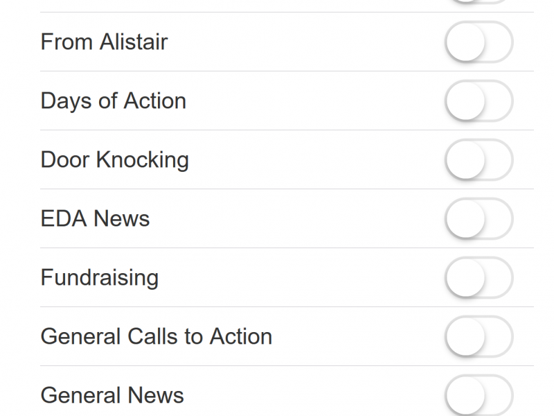 iphone6 sign up for custom calls-to-action