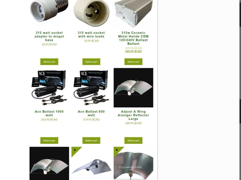 New All Products Page - Progressive Growth