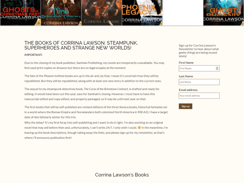 New Books Page