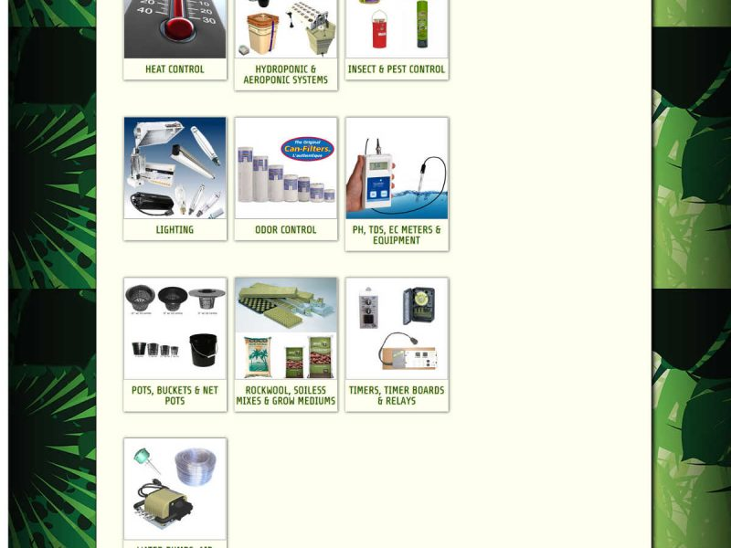 Old Products by Category Page - Progressive Growth