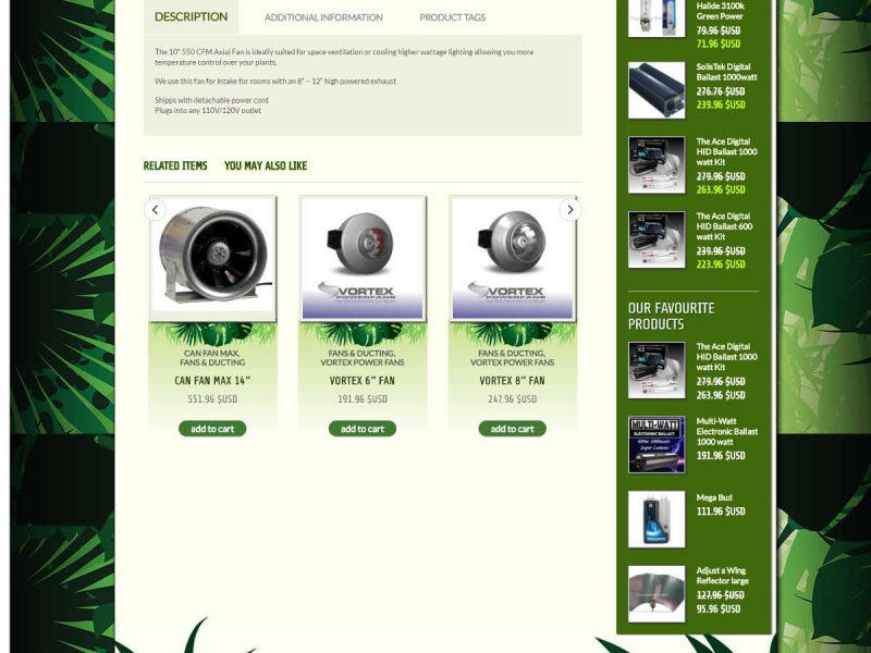 Old Single Product Page - Progressive Growth